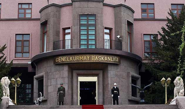 Explosions heard from Turkish General Staff Command