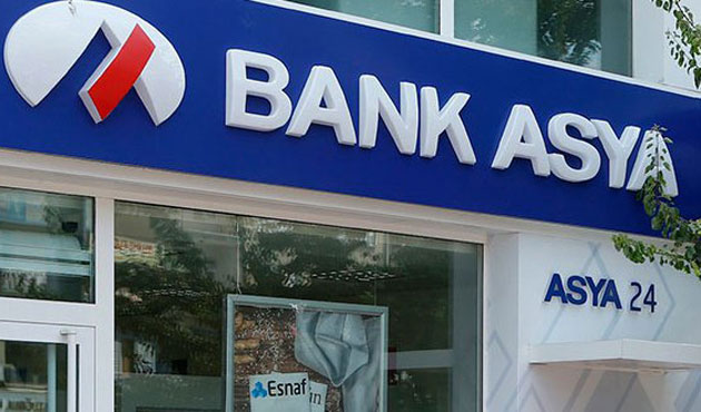 Bank Asya's banking operations suspended