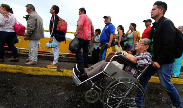 Venezuela claims 'thousands' of migrants want to come home