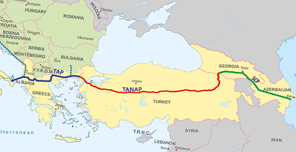 TANAP pipeline project ahead of schedule: Turkish envoy