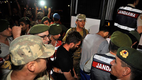 9 more soldiers linked to Erdogan hotel attack captured