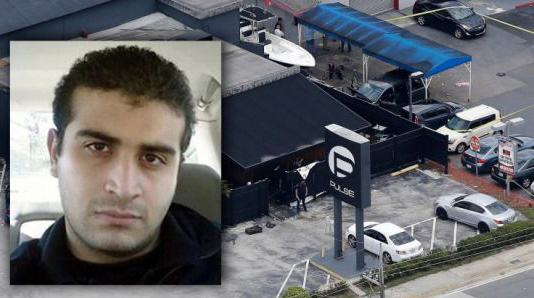 US: Orlando shooter hit 8 times by police