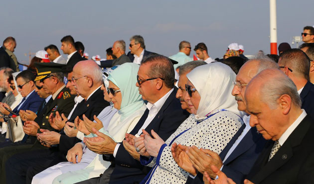 History made as AK Party, CHP, MHP heads attend rally