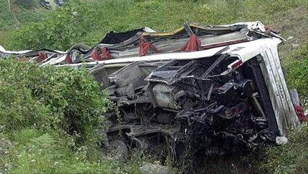 Peru bus accident kills 48