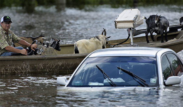 Obama to visit Louisiana as floodwaters recede