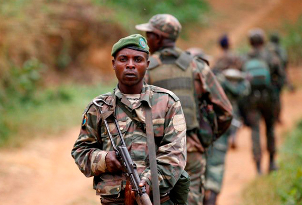 Ugandan military says over 100 extremists killed in DRC