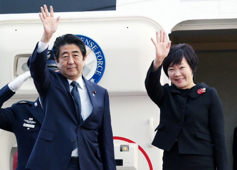Japan's first lady visits Pearl Harbor