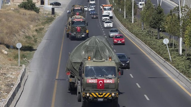 Turkish armored units dispatched to outskirts of cities