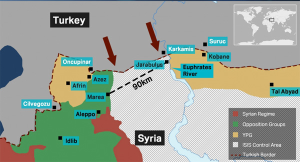 Turkey 'planned Syria operation for over 2 years'