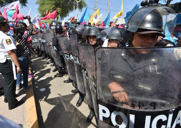 Peru confirms existence of police death squad