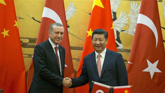 Erdogan meets with Chinese president Xi Jinping