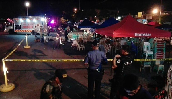 Philippines searching for 4 people for southern blast