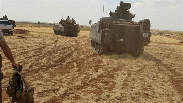 Turkish tanks enter north Syrian town of al Rai