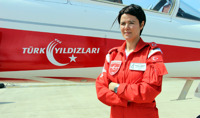 Turkey's air force appoints first female wing commander