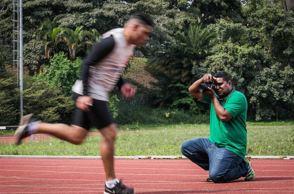 Blind photographer gets his vision of Paralympics