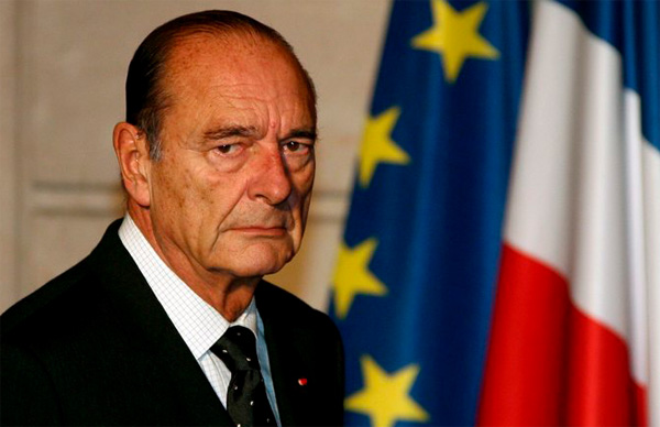 France's Jacques Chirac hospitalised with lung infection