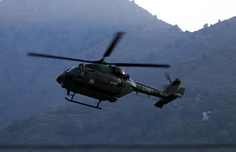 France: 5 dead in military helicopter crash
