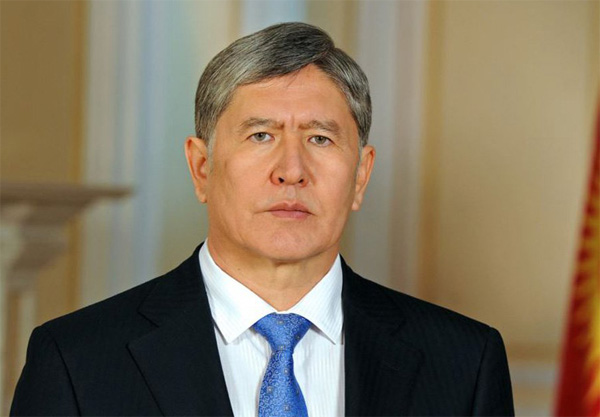 Kyrgyz president home after Moscow heart treatment