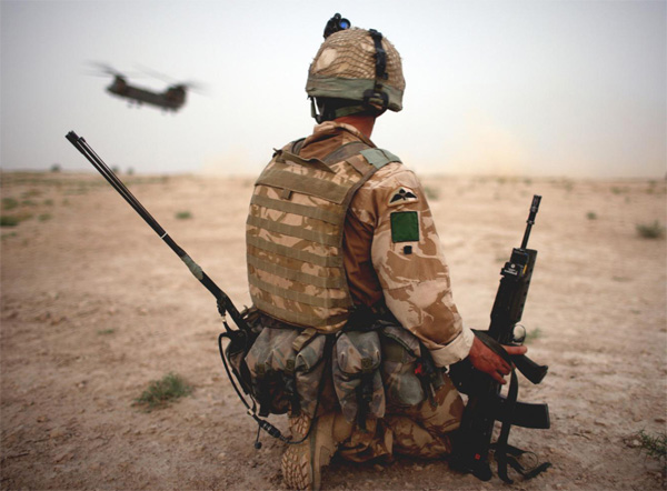 British troops to be exempt from human rights law..