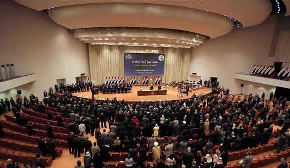 Main Iraq coalitions form majority bloc in parliament