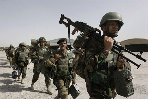 Afghan troops go AWOL from US military base