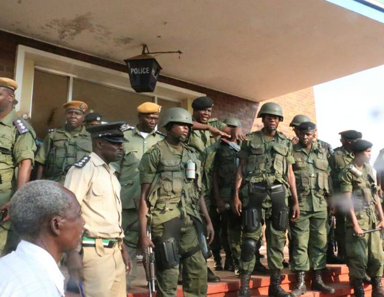 Zambian troops arrive in Lesotho as standby force