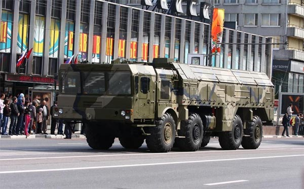 Putin's answer to Obama:Iskander missiles on NATO doorstep