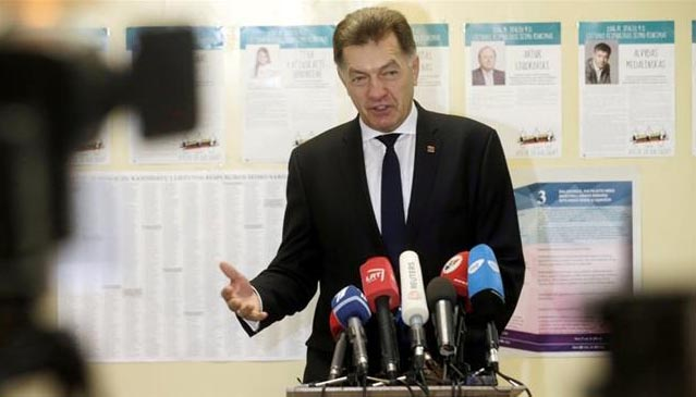 Lithuania opposition set to oust leftists after polls