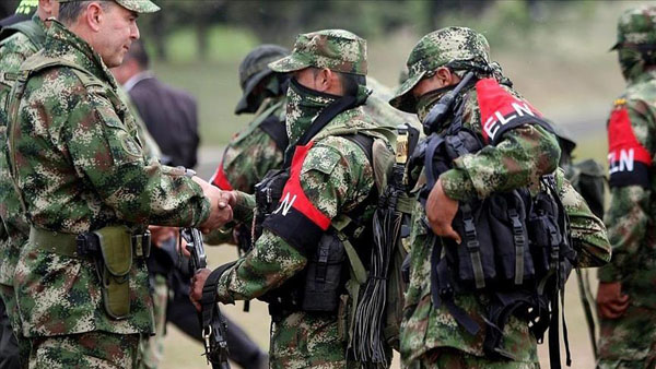 ELN rebels agree to peace talks with Colombia govt