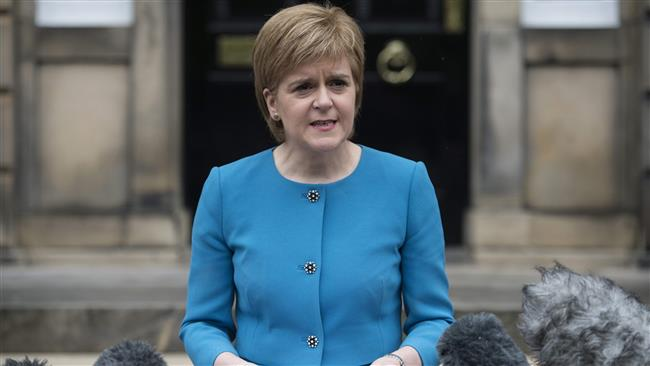 Scottish leader announces second independence bid