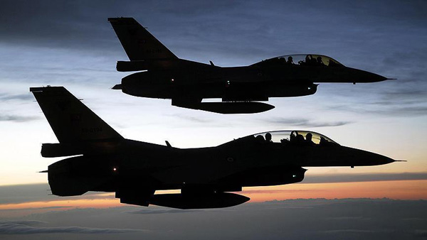 Turkish jets destroy PKK positions in northern Iraq