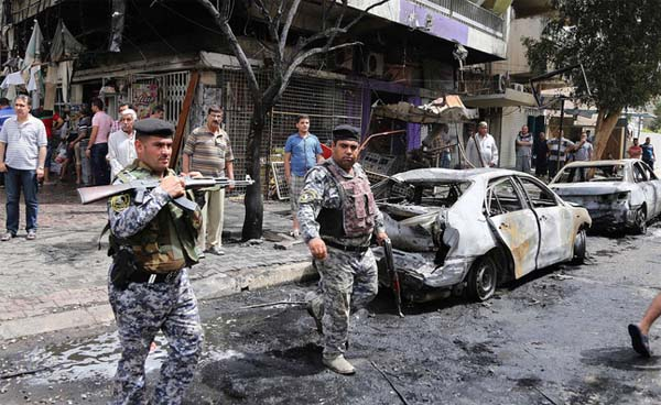 Bomber kills 31 in Shiite gathering in Baghdad