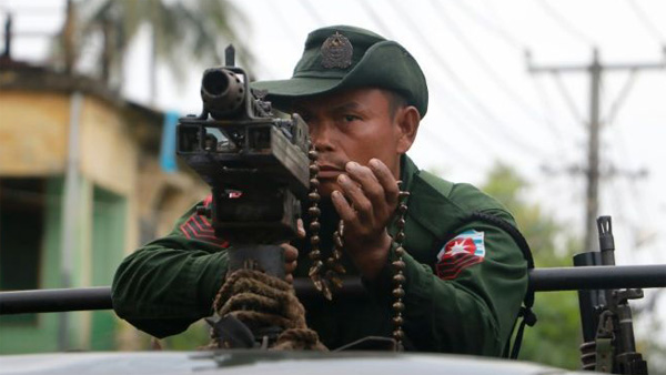 Myanmar army ends operations in north Rakhine