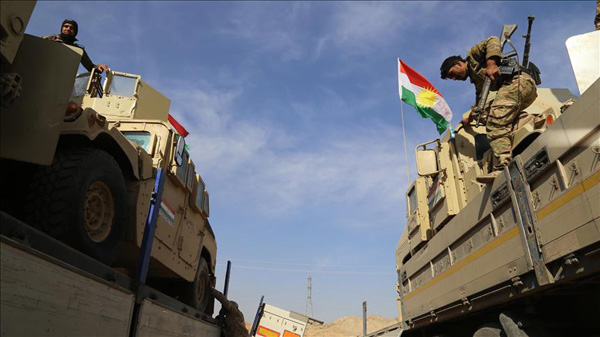 Peshmerga to stay out of disputed areas