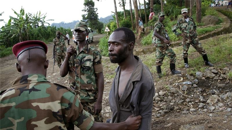 Rwandan commander arrested in DRC