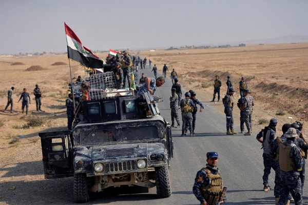 3 soldiers killed as Iraqi forces battle ISIL in Mosul
