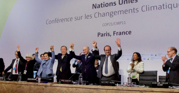 Historic climate pact enters into force