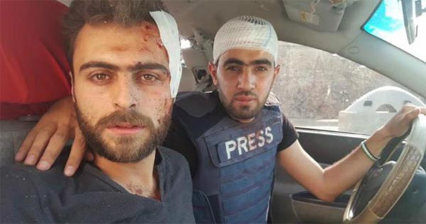 Young Syrian named journalist of the year