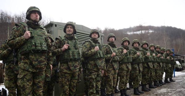 Russia, Belarus in military exercise with Serbia