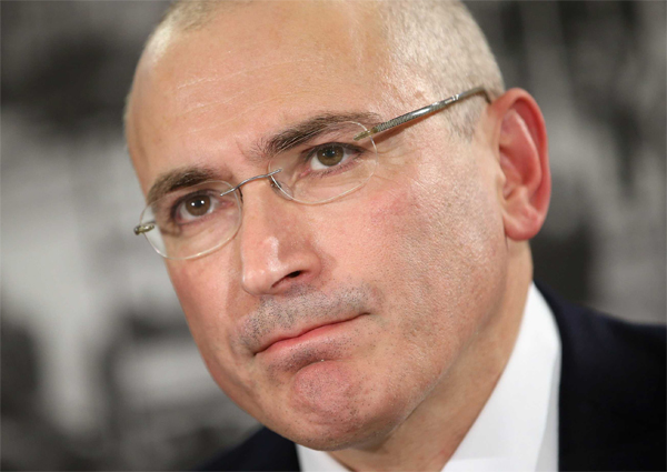 Khodorkovsky urges UK to sanction Russian elites