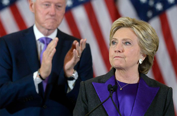Clinton opens door to challenging Trump's 2016 win