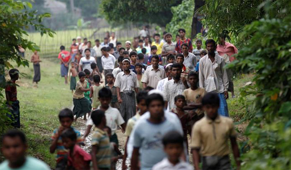 Rohingya refugees mark first Eid