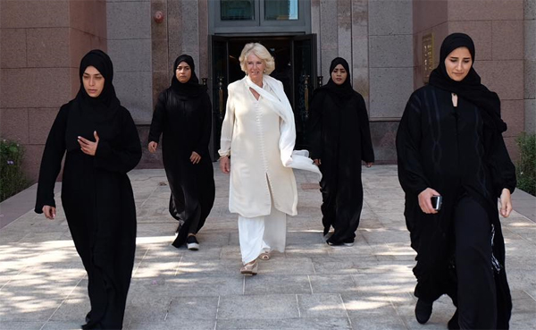 Duchess Camilla gets all female security team in UAE