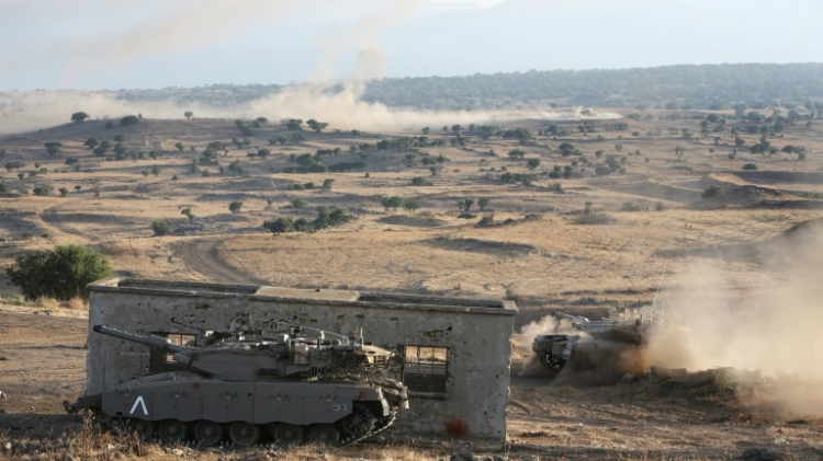 Israeli airforce strikes ISIL group in Syria