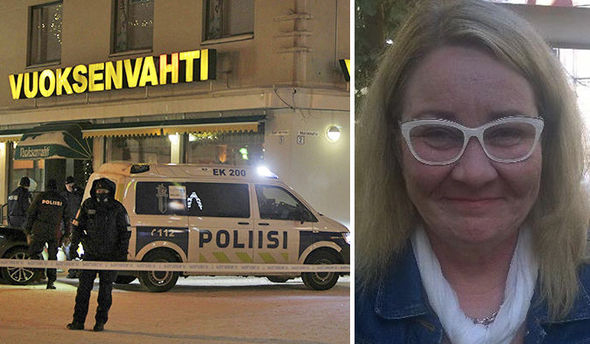 Gunman shoots dead three women in Finland town