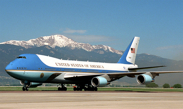 Trump cancels new Air Force One order