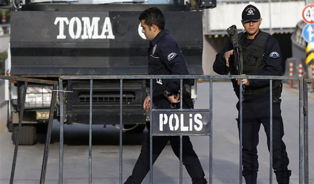 15,000 police deployed to guard CHP rally in Istanbul