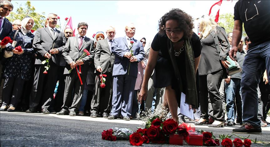 Foreign envoys visit blast site in Istanbul