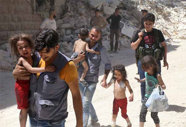 UN: Aleppo bombardment most likely a war crime