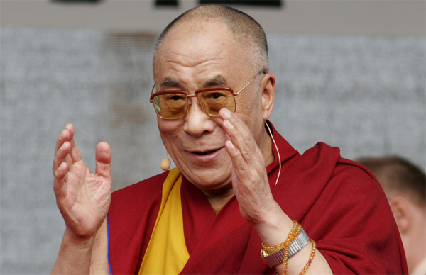 China protests Dalai Lama meeting with Indian president
